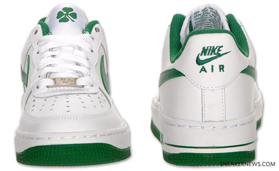 low priced 07c3d 37cb6 Nike Air Force 1 GS – St. Patrick s Day. Nike ...